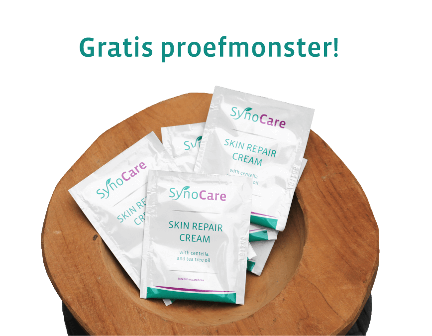 Gratis proefmonster Skin Repair Cream